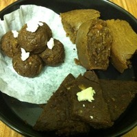 Eggless Cocoa Chocolate Cake, Balls and Flatten Recipe